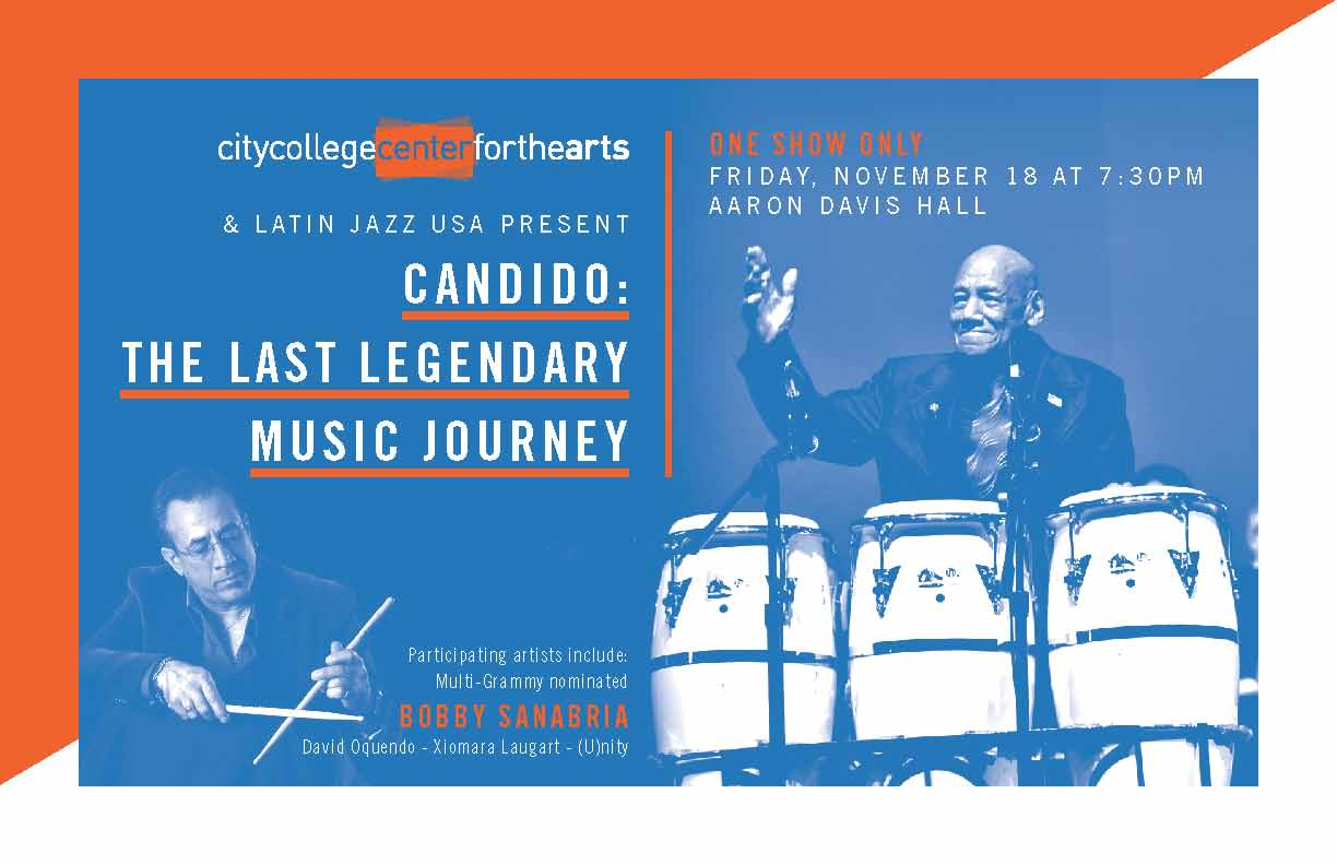 Candido Camero Concert and Latin Jazz USA | Benjamin Lapidus